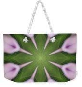 Flower Kaleidoscope_003 Weekender Tote Bag