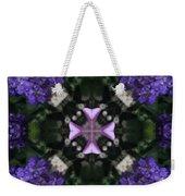Flower Kaleidoscope_004 Weekender Tote Bag
