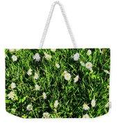 Flower Kissed Fields Weekender Tote Bag