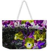 Flower Like Purple And Yellow Weekender Tote Bag