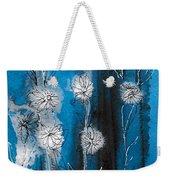 Flower Lineup Weekender Tote Bag