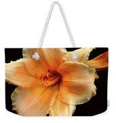 Flower Weekender Tote Bag by M Montoya Alicea