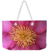 Flower Macro Weekender Tote Bag