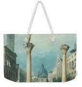 flower market in Vicenza Weekender Tote Bag