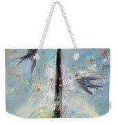 Flower Mind Weekender Tote Bag