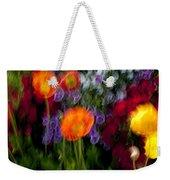 Flower Motion Weekender Tote Bag
