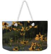 Flower Mountain View Weekender Tote Bag