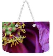 Flower Music Weekender Tote Bag