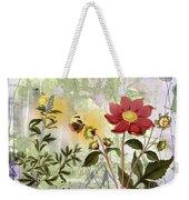 Flower-n Weekender Tote Bag