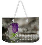Flower Of Ice Weekender Tote Bag