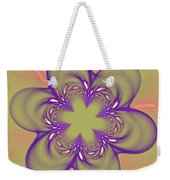 Flower Of Pink - Purple Weekender Tote Bag