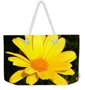 Flower Of Sunshine Weekender Tote Bag