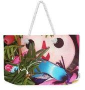 Flower Or Fruit Weekender Tote Bag