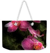Flower - Orchid - Phalaenopsis - The Cluster Weekender Tote Bag
