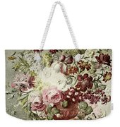 Flower Painting Weekender Tote Bag