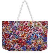 Flower Passion Weekender Tote Bag