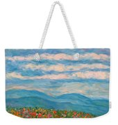 Flower Path To The Blue Ridge Weekender Tote Bag