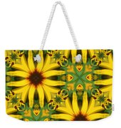 Flower Pattern Weekender Tote Bag