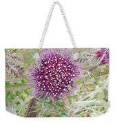 Flower Photograph Weekender Tote Bag