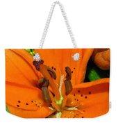 Flower Pistil Weekender Tote Bag