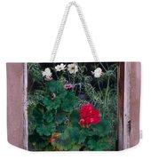 Flower Pot In Window Weekender Tote Bag