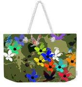 Flower Power 48 Weekender Tote Bag