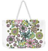 Flower Power 5 Weekender Tote Bag