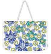 Flower Power 7 Weekender Tote Bag