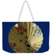 Flower Power Balloon Weekender Tote Bag