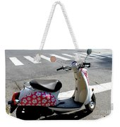 Flower Power For A Montreal Motor Scooter Weekender Tote Bag