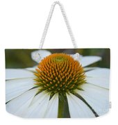 Flower Power Sacred Geometry Weekender Tote Bag