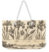 Flower Print No.3 Weekender Tote Bag