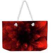 Flower  Red Shade Weekender Tote Bag