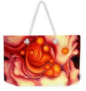 Flower Shell Weekender Tote Bag