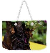 Flower Shoe Pot Weekender Tote Bag