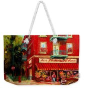 Flower Shop On The Corner Weekender Tote Bag