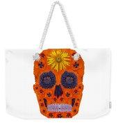 Flower Skull 1 Weekender Tote Bag