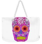 Flower Skull 2 Weekender Tote Bag