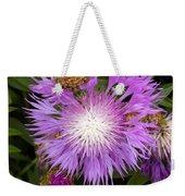 Flower Snowflake Weekender Tote Bag