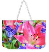 Flower Soft  Weekender Tote Bag