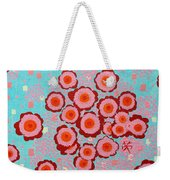 Flower Spreading  Weekender Tote Bag