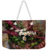 Flower - Still - Seat Reserved Weekender Tote Bag