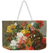 Flower Study Weekender Tote Bag