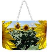 Flower Sunflower,yellow Flower, Weekender Tote Bag