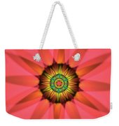 Flower Translucent 14 Weekender Tote Bag