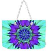 Flower Translucent 19 Weekender Tote Bag
