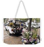 Flower Truck On Nantucket Weekender Tote Bag