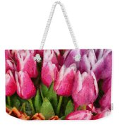 Flower - Tulip - A Young Girls Delight Weekender Tote Bag