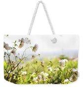 Flower Valley Weekender Tote Bag