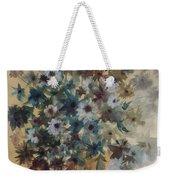 Flower Vase Original Watercolor Weekender Tote Bag